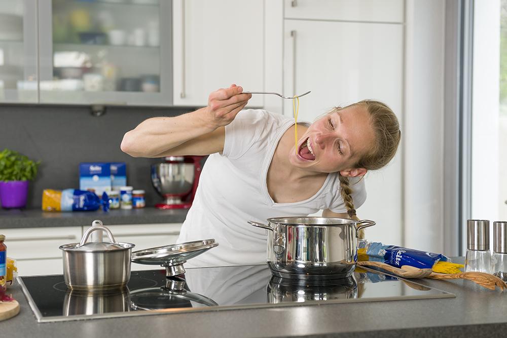 In der Küche mit Triatheltin Svenja Bazlen