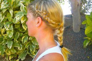 Frisuren für den Sport