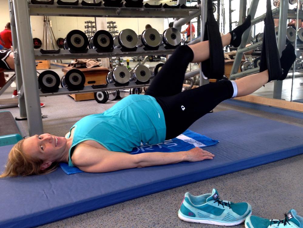Training für Schwangere –Svenja Bazlen zeigt wie es geht