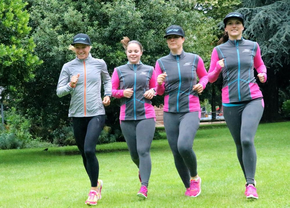Laufen mit Anja Beranek