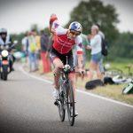 Daniela Ryf auf der Radstrecke der Challenge Roth