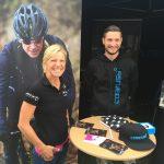 Prof-Triathletin Anja Beranek auf der Triathlon-Messe in Roth
