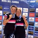 Luisa und Katja beim Trans Alp
