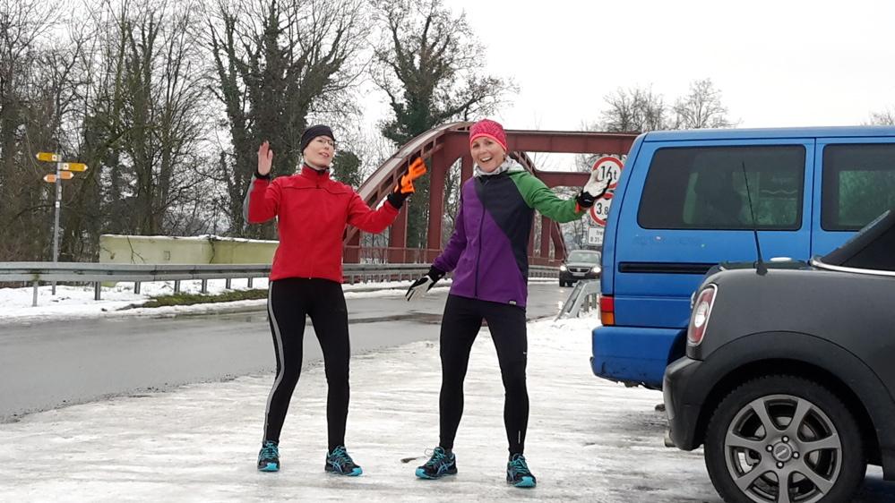 Alexandra Kreis_Laufen bei Eis und Schnee