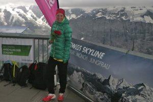 Rabea Vögtle beim Inferno Triathlon 2016 in der Schweiz
