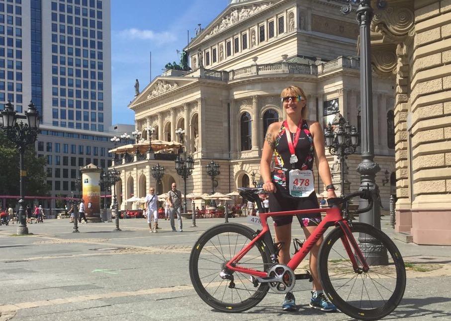 Rookie Rebecca in Frankfurt