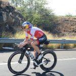 Die Schweizerin Daniela Ryf beim Ironman Hawaii