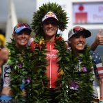 Die Siegerinnen des Ironman Hawaii 2016