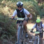 Anita Horn beim Mountainbike-Rennen in Israel