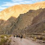 Laufen im Death Valley ist sehr beeindruckend