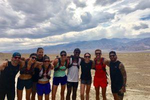 UA-Running Team beim Run Camp im Death Valley