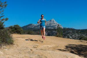 Simone Schwarz beim Trailrunning in Frankreich