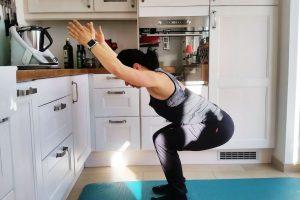 Kochen und dabei trainieren
