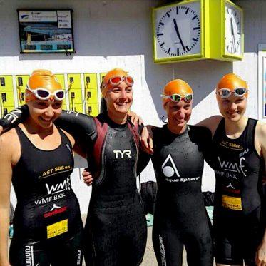 Im Triathlonteam durch dick und dünn