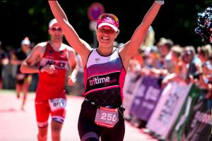 tritime women Botschafterin Luisa Keller siegt auf der Mitteldistanz beim Triathlon in Ingolstadt
