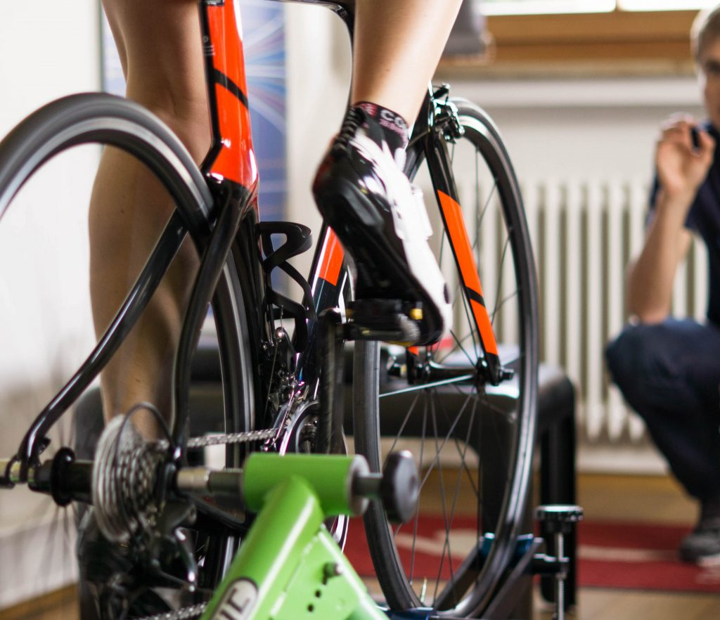 Bikefitting am Triathlonrad