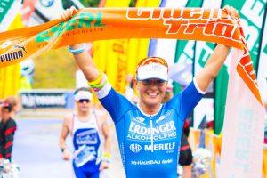 Dianela Sämmlr siegt beim Chiemsee Triathlon 2017