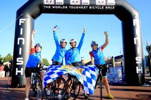 Vierköpfiges deutsches Damenradteam knackt Streckenrekord beim Race Across America