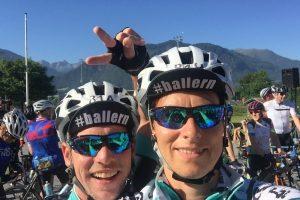 Team Troschka bei der Tour Transalp