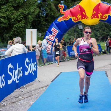 Judith Mess beim Schliersee Triathlon