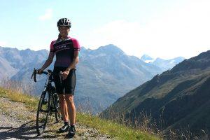 Katja startet beim Ötztaler Radmarathon