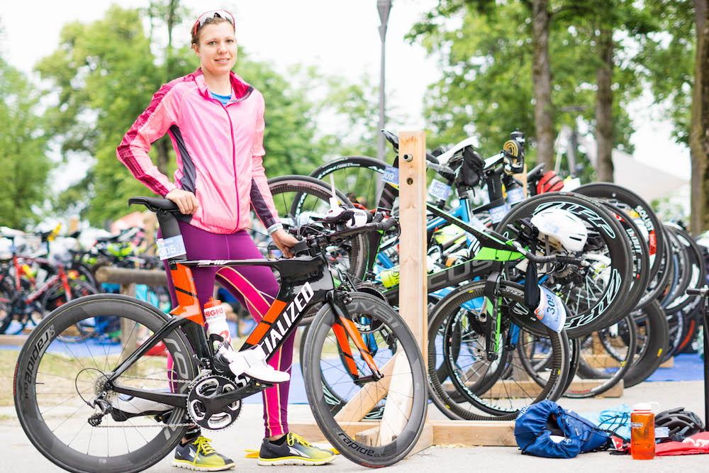 """Judith testet das Triathlonzeitfahrrad """"Shiv"""" von Specialized"""