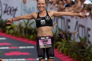 Die Triatletin Kaisa Salin möchte beim Ironman Hawaii aufs Podium