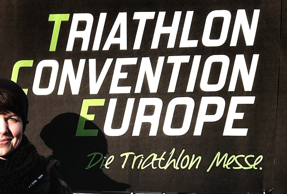 Jule auf der Triathlon Convention Europe in Langen