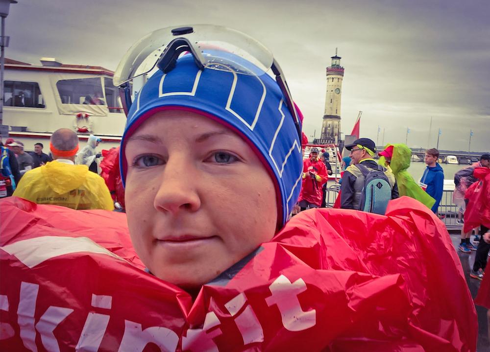 Franzi bei ihrem ersten Marathon