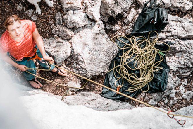 Klettern ist ein effektives Alternativtraining für Ausdauersportler und Triathleten