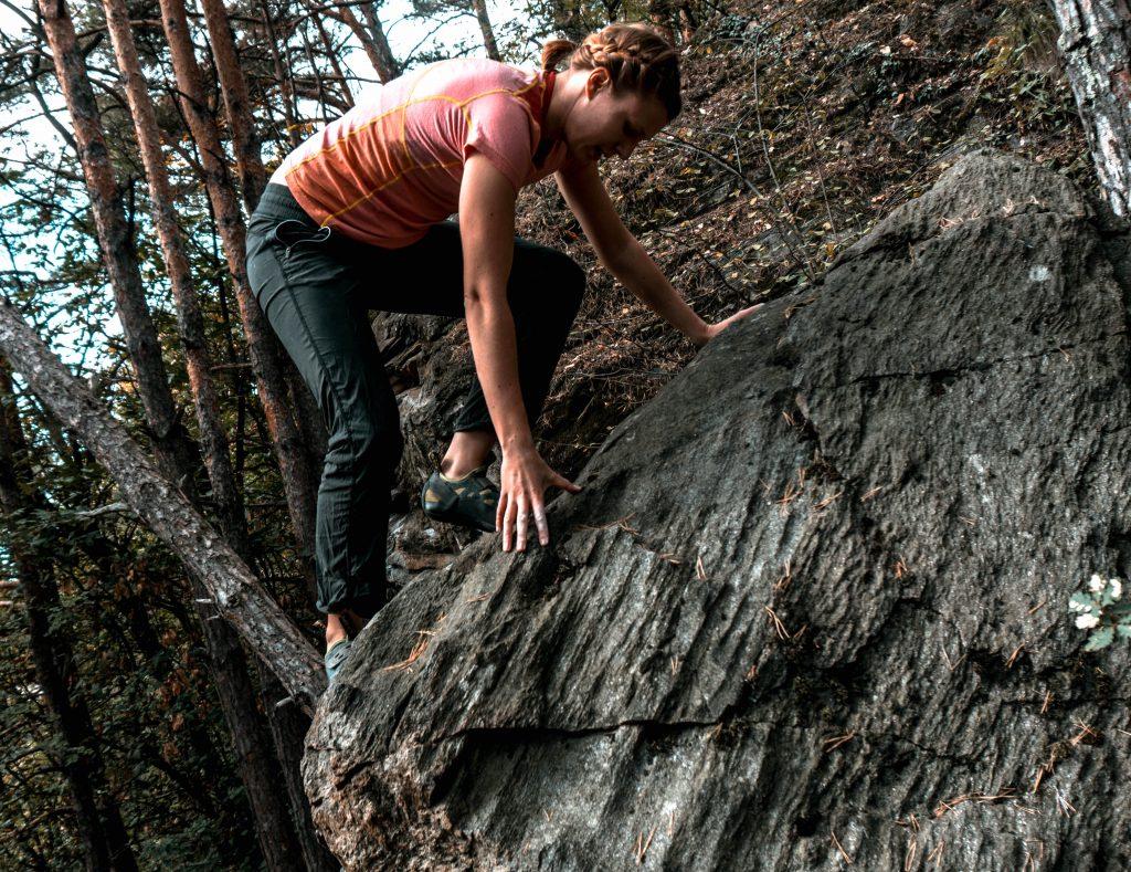Bouldern – jeder fängt mal klein an