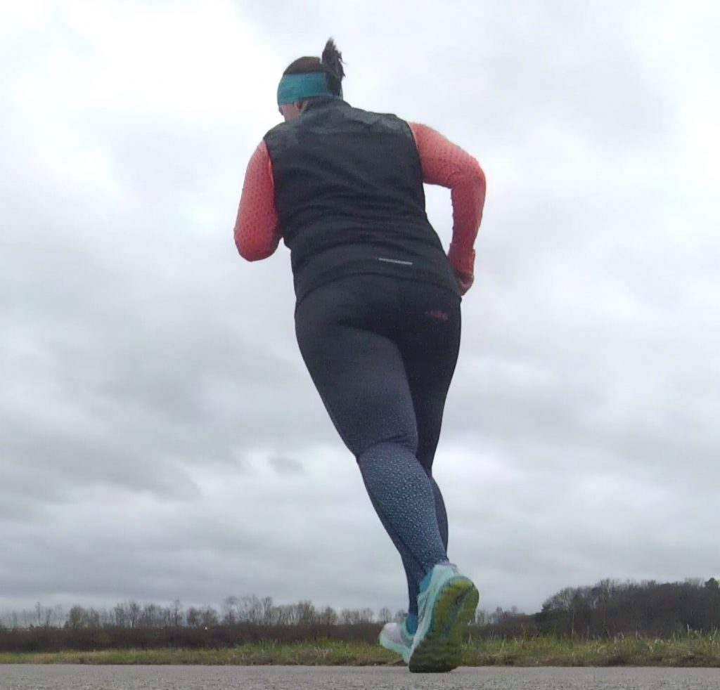 Christina will ihre neue Herausforderung – eine Triathlon-Mitteldistanz zu finishen –mit Spaß bewältigen