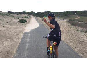 Spaß auf dem Rennrad