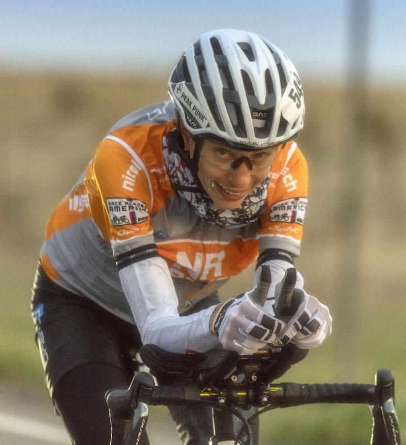 Nicole Reist wird Dritte beim Race Across America 2018