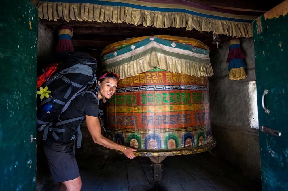 Luisa genießt das einfache Leben in Nepal ohne Trainingsstress