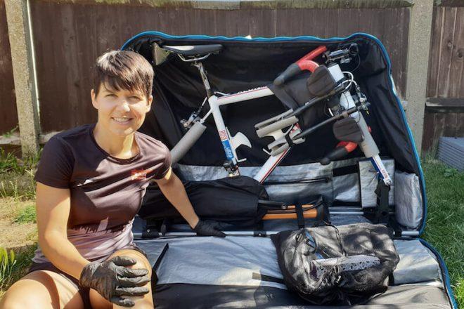 Mit dem Rennrad auf Flugreisen