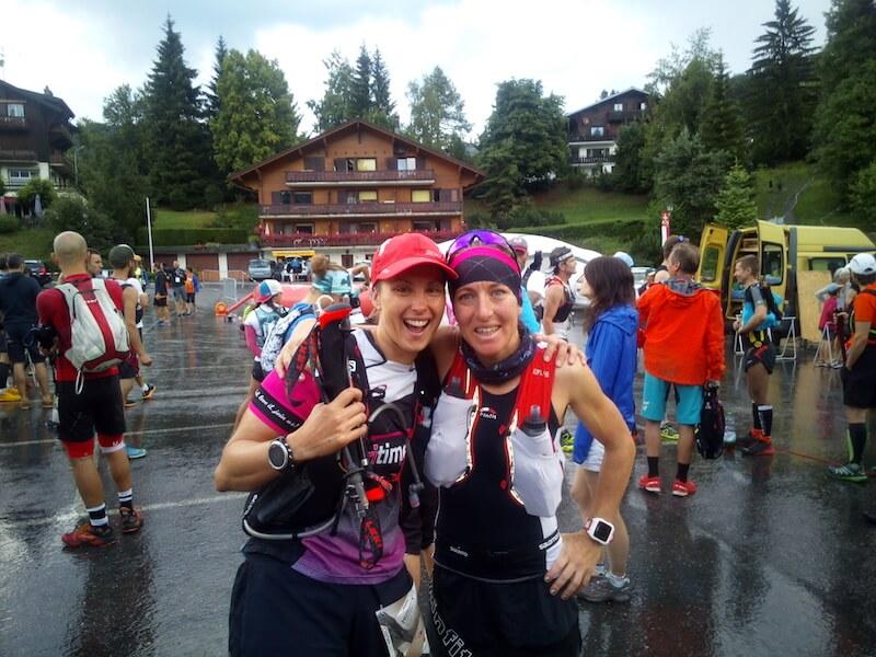 Jenni und Mone beim Trailfestival in Montreux