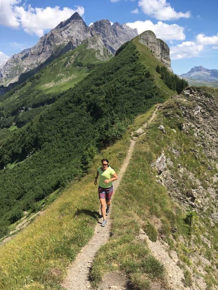 Trailrunning in den Schweizer Bergen ist ein Genuß