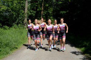 Mit dem tritime women Team für einen guten Zweck laufen