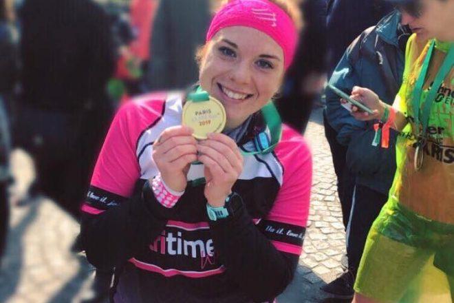Laura läuft ihren ersten Marathon in Paris