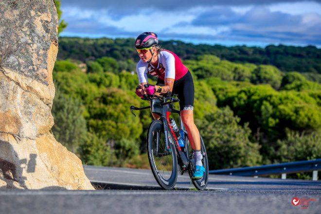 Verena Walter beim Challenge Rennen in Madrid